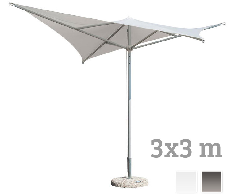 sonnenschirm scolaro vela 3x3 stockschirm. Black Bedroom Furniture Sets. Home Design Ideas