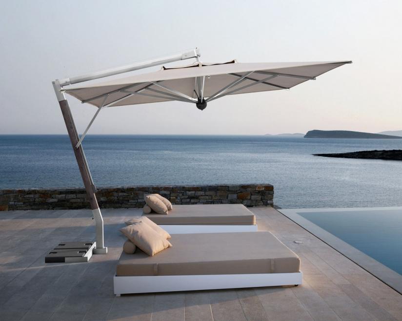 sonnenschirm scolaro giotto braccio 3x4 ampelschirm aluminiumschirm vom sonnenschirm. Black Bedroom Furniture Sets. Home Design Ideas