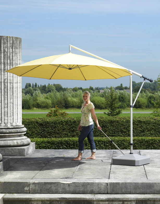 sonnenschirmst nder liro midi plus 100k mit rollen leichtes bewegen parasol base online shop. Black Bedroom Furniture Sets. Home Design Ideas