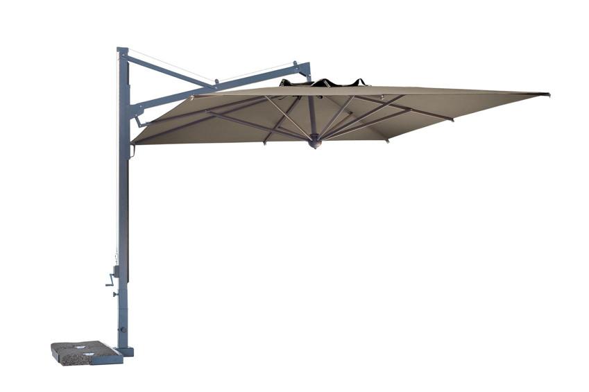 Sonnenschirm Rechteckig 3 X 4 : sonnenschirm scolaro galileo maxi 4x4 ampelschirm aluminium hanging parasol vom ~ Frokenaadalensverden.com Haus und Dekorationen