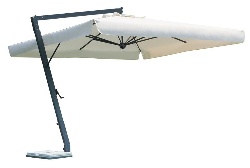 sonnenschirm scolaro leonardo braccio 4x4 ampelschirm alu hanging parasol online shop. Black Bedroom Furniture Sets. Home Design Ideas