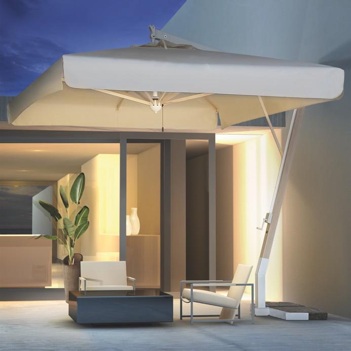 sonnenschirm scolaro milano braccio 3x4 ampelschirm alu hanging parasol vom sonnenschirm. Black Bedroom Furniture Sets. Home Design Ideas