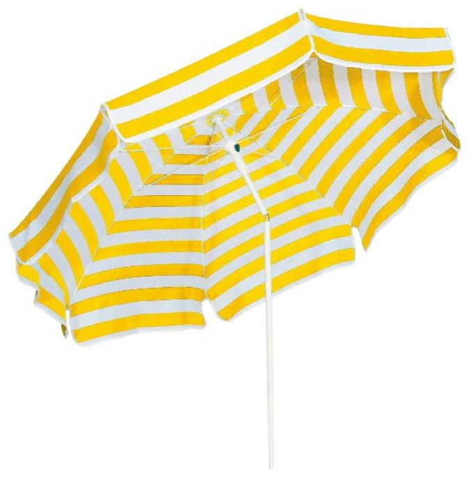 karina sonnenschirm schneider capri gelb weiss. Black Bedroom Furniture Sets. Home Design Ideas