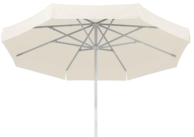 Sonnenschirm SCHNEIDER «Jumbo Ø400cm Rund Weiß» Stockschirm Parasol