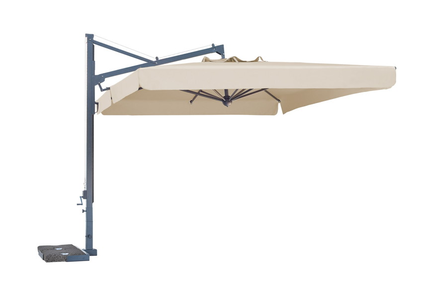 sonnenschirm scolaro galileo dark 3x4 ampelschirm aluminium hanging parasol online shop. Black Bedroom Furniture Sets. Home Design Ideas