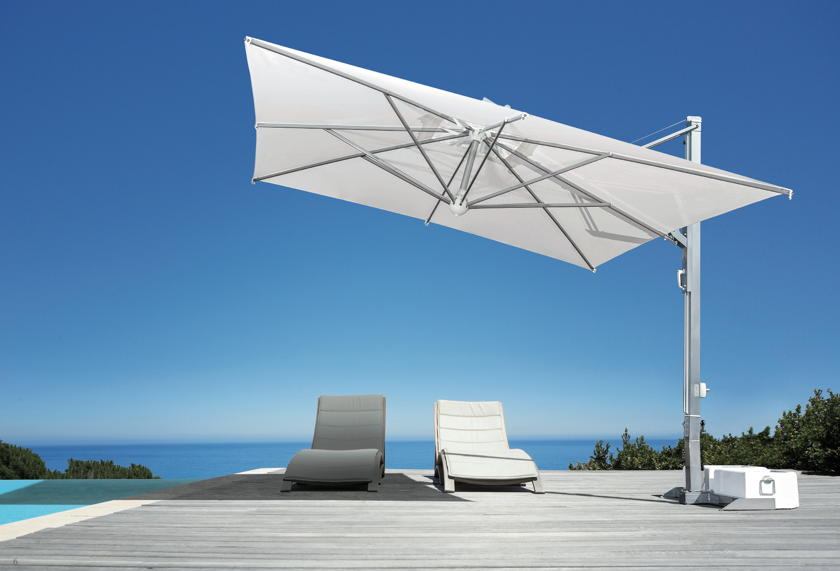 sonnenschirm scolaro galileo inox 3x3 ampelschirm aluminium hanging parasol online shop. Black Bedroom Furniture Sets. Home Design Ideas