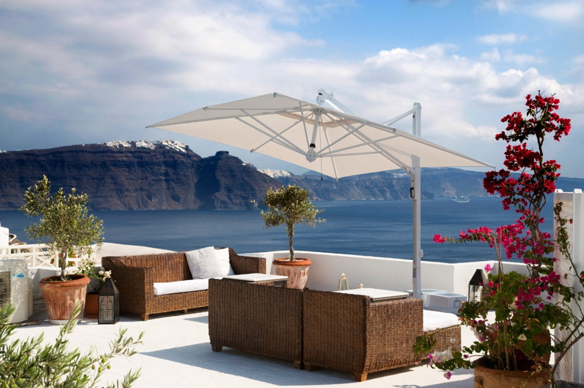 sonnenschirm scolaro galileo white 3x4 ampelschirm aluminium hanging parasol vom. Black Bedroom Furniture Sets. Home Design Ideas