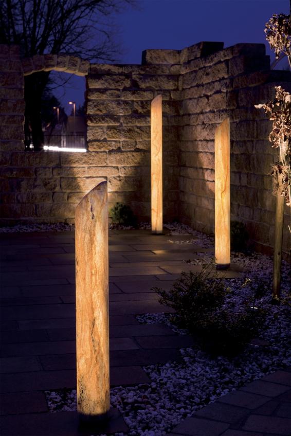 objektbeleuchtung terrassen beleuchtung leuchtobjekte outdoor lampen f r gastronomie und. Black Bedroom Furniture Sets. Home Design Ideas