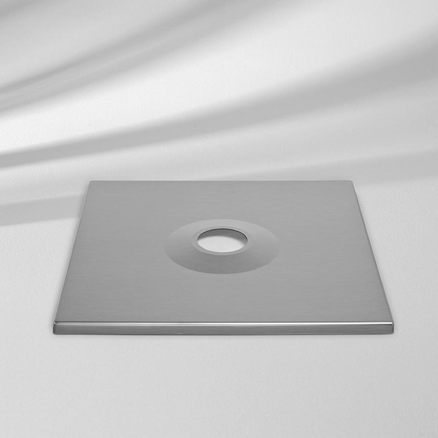 sockelabdeckung glatz abdeckung f r sockel m4 vom sonnenschirm fachh ndler. Black Bedroom Furniture Sets. Home Design Ideas