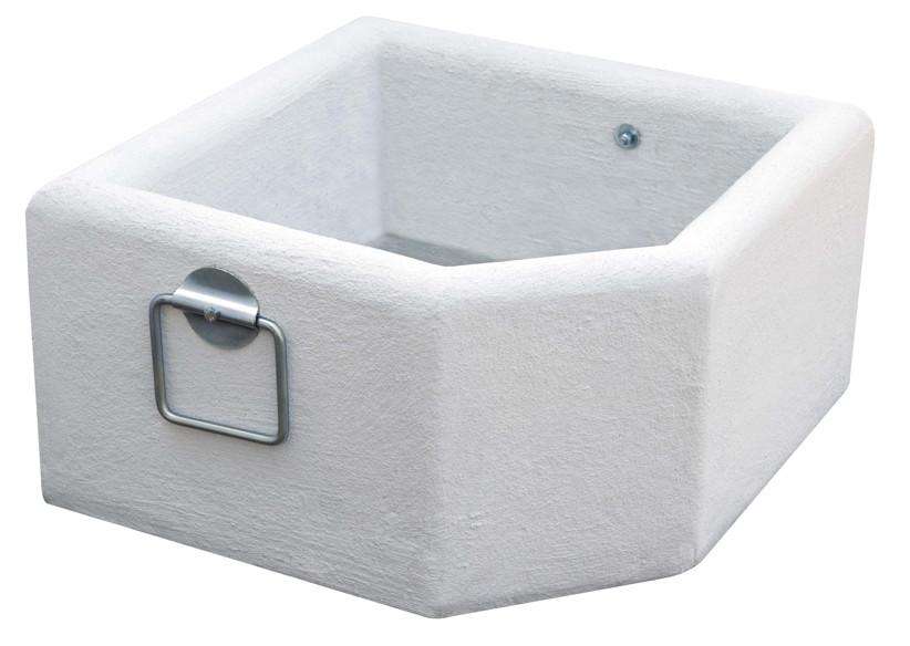 blumenk bel scolaro blumen betonk bel wei f r plattenschirmst nder vom sonnenschirm fachh ndler. Black Bedroom Furniture Sets. Home Design Ideas