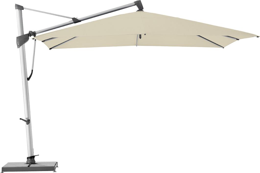 ampelschirm glatz sonnenschirm sombrano s 350x350 cream. Black Bedroom Furniture Sets. Home Design Ideas