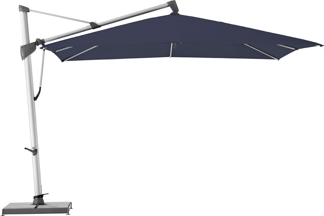 ampelschirm glatz sonnenschirm sombrano s 350x350 navy. Black Bedroom Furniture Sets. Home Design Ideas