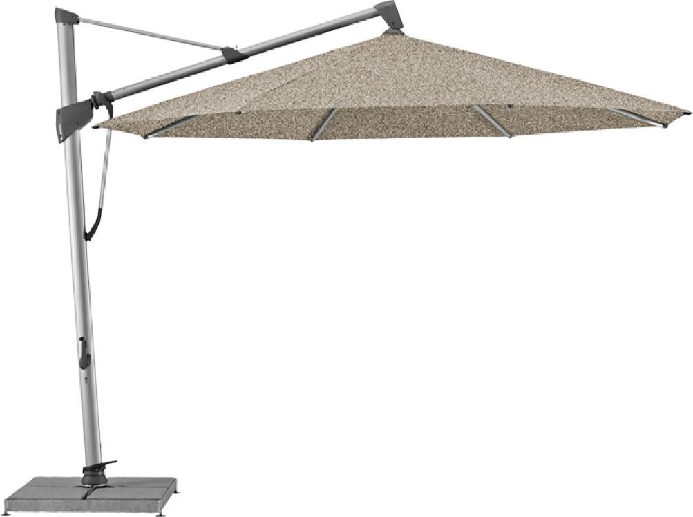 ampelschirm glatz sonnenschirm sombrano s 350cm taupe. Black Bedroom Furniture Sets. Home Design Ideas