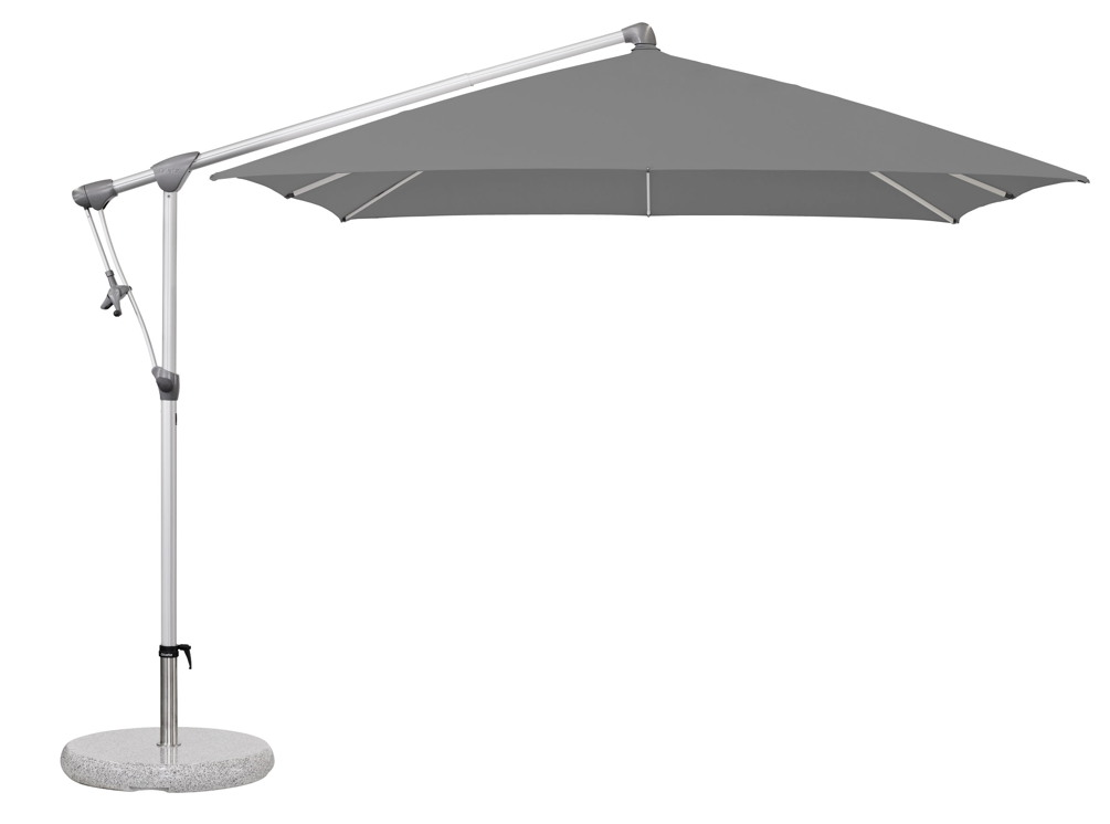 ampelschirm glatz sonnenschirm sunwing c 260x260 smoke. Black Bedroom Furniture Sets. Home Design Ideas