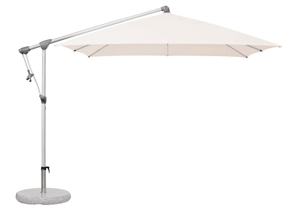 ampelschirm glatz sonnenschirm sunwing c 260x260 vanilla sonnenschutz vom sonnenschirm. Black Bedroom Furniture Sets. Home Design Ideas