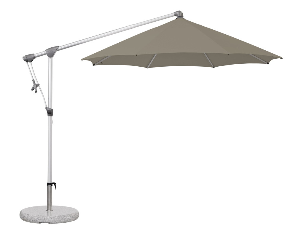 ampelschirm glatz sonnenschirm sunwing c 265 cm taupe. Black Bedroom Furniture Sets. Home Design Ideas