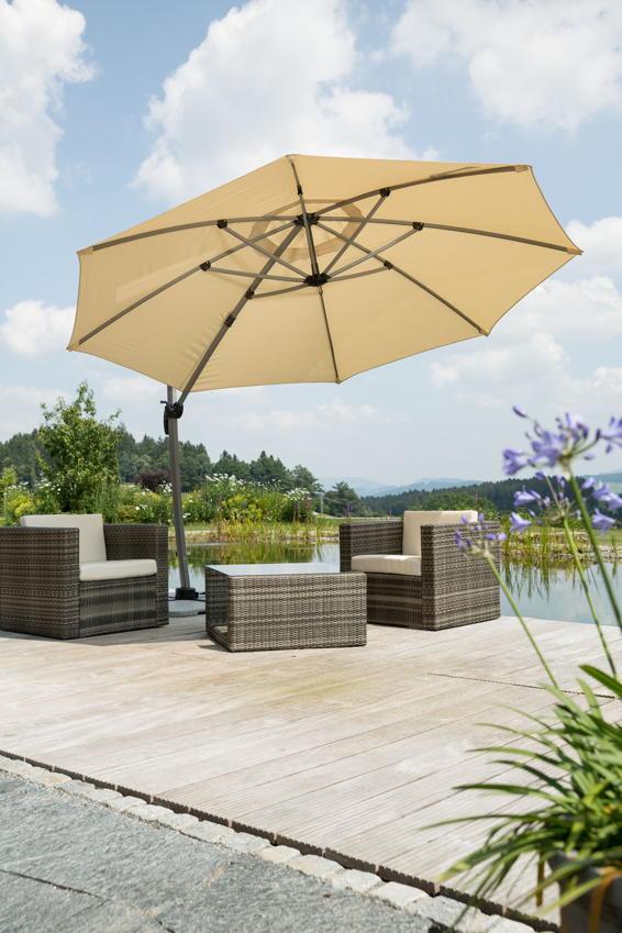 schneider sonnenschirm rhodos rondo prinsenvanderaa. Black Bedroom Furniture Sets. Home Design Ideas