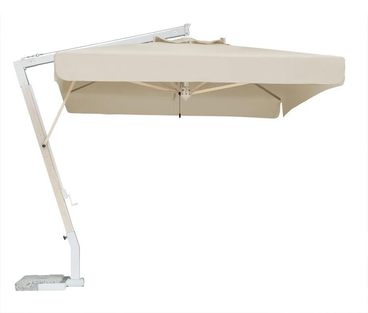 sonnenschirm scolaro milano braccio 3 5x3 5 ampelschirm alu hanging parasol vom. Black Bedroom Furniture Sets. Home Design Ideas