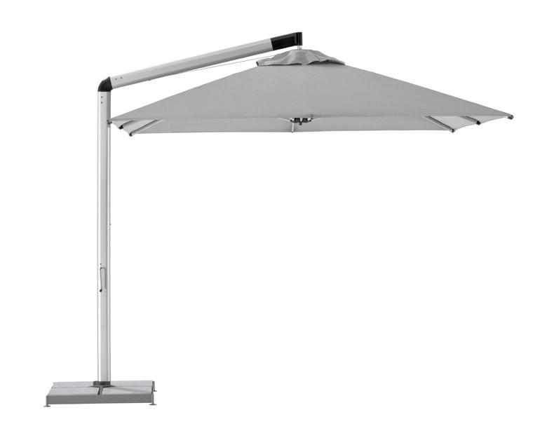 sonnenschirm shademaker ampelschirm orion 350cm windsicher vom sonnenschirm fachh ndler. Black Bedroom Furniture Sets. Home Design Ideas