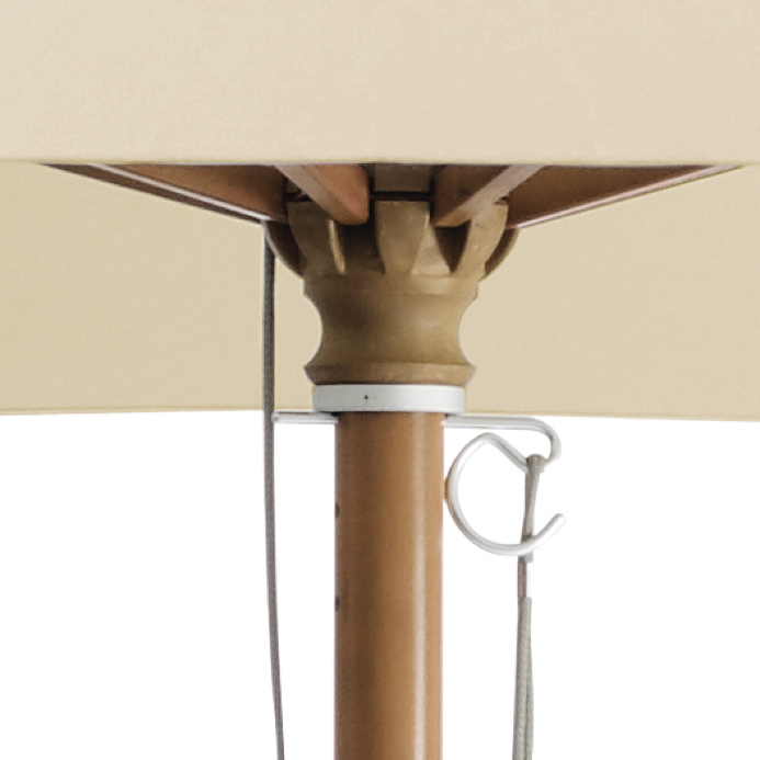 sonnenschirm glatz stockschirm piazzino rund 300cm wine. Black Bedroom Furniture Sets. Home Design Ideas