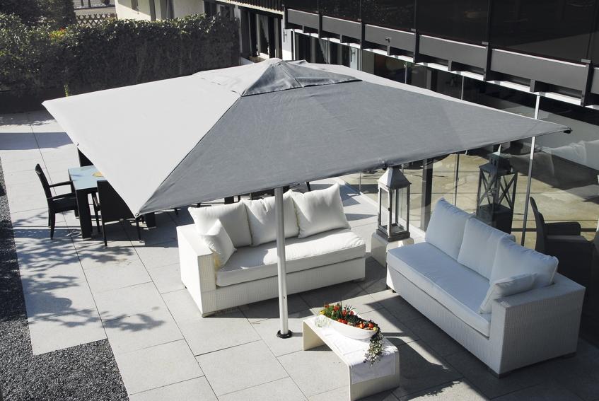 sonnenschirm shademaker stockschirm astral tc 400x400cm. Black Bedroom Furniture Sets. Home Design Ideas