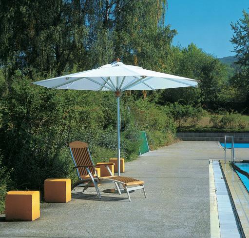 sonnenschirm fischer sonnenschirm aluline schirm 400 parasol online shop g nstig angebot. Black Bedroom Furniture Sets. Home Design Ideas