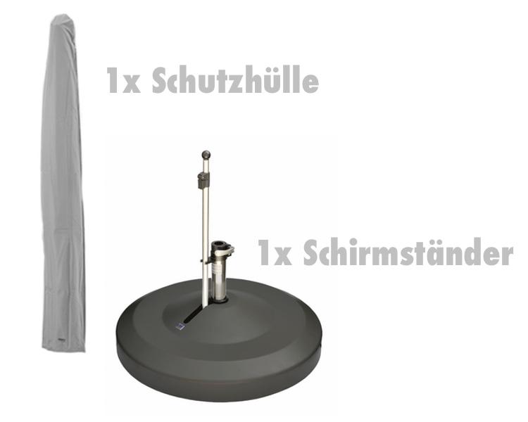 schutzh lle glatz h lle f r sonnenschirm fortero vom. Black Bedroom Furniture Sets. Home Design Ideas