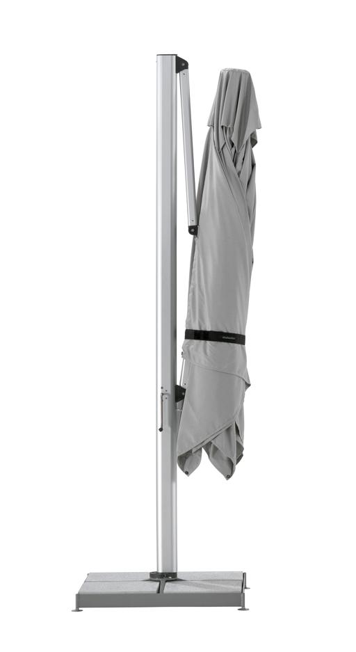 sonnenschirm shademaker ampelschirm polaris 400x400cm. Black Bedroom Furniture Sets. Home Design Ideas