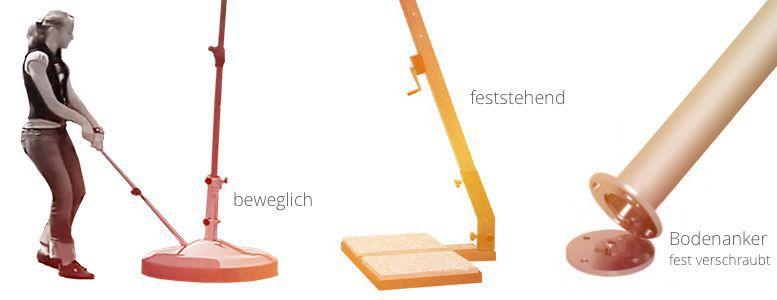sonnenschirm st nder und boden verankerung vom sonnenschirm fachh ndler. Black Bedroom Furniture Sets. Home Design Ideas