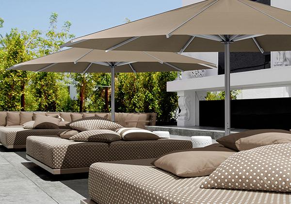 sonnenschirme ampelschirme f r gastronomie und hotel terrasse. Black Bedroom Furniture Sets. Home Design Ideas