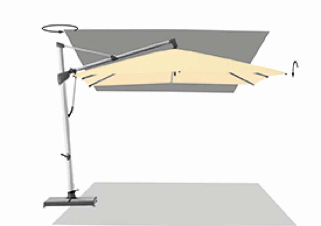 ampelschirm glatz sonnenschirm sombrano s 300x300 black sonnenschutz online shop g nstig. Black Bedroom Furniture Sets. Home Design Ideas