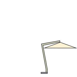 cantilever patio umbrella scolaro galileo maxi 4x4 offset aluminum online shop g nstig angebot. Black Bedroom Furniture Sets. Home Design Ideas