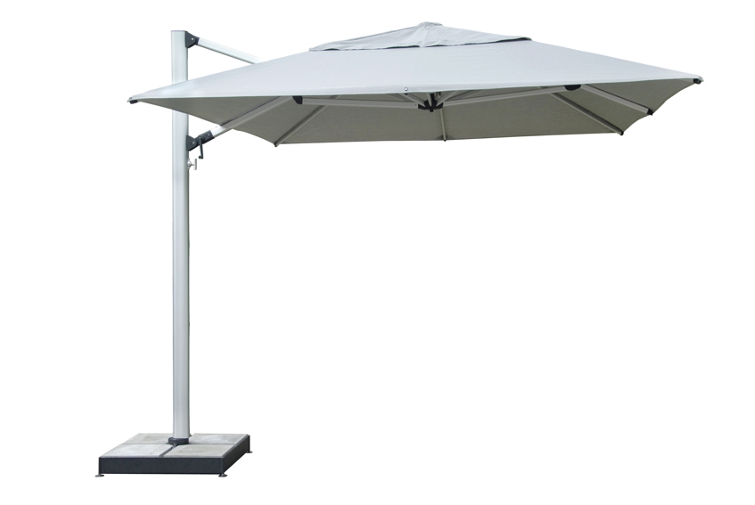 sonnenschirm shademaker ampelschirm polaris 400x400cm windsicher online shop g nstig angebot. Black Bedroom Furniture Sets. Home Design Ideas