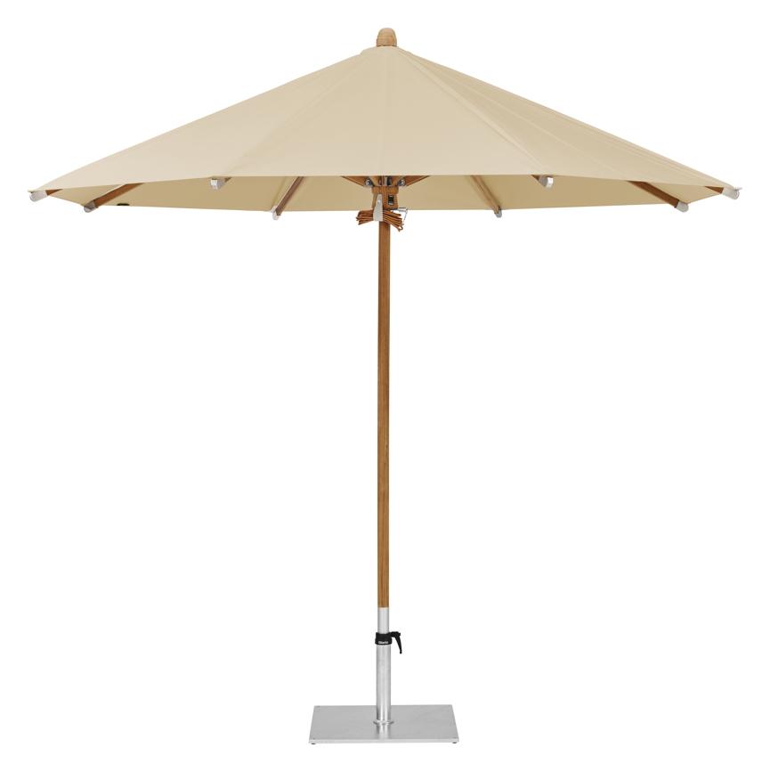 sonnenschirm glatz stockschirm teakwood 350 cm cream sonnenschutz online shop g nstig angebot. Black Bedroom Furniture Sets. Home Design Ideas